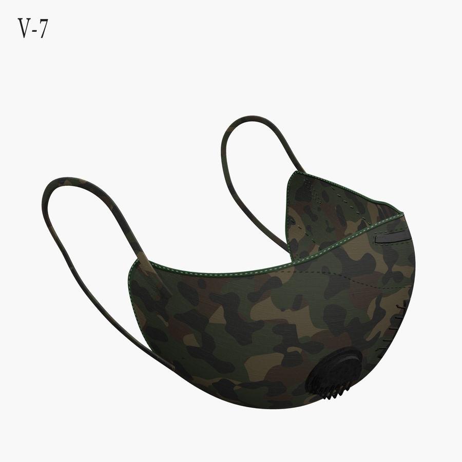 医療用マスク royalty-free 3d model - Preview no. 25