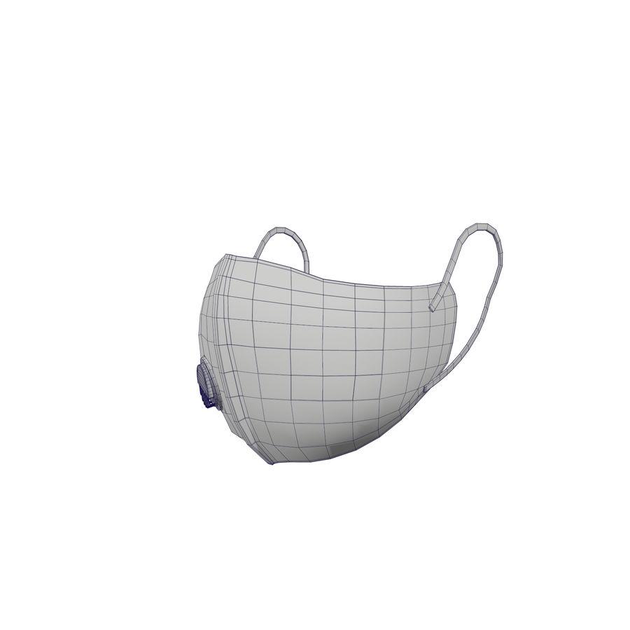 医療用マスク royalty-free 3d model - Preview no. 30