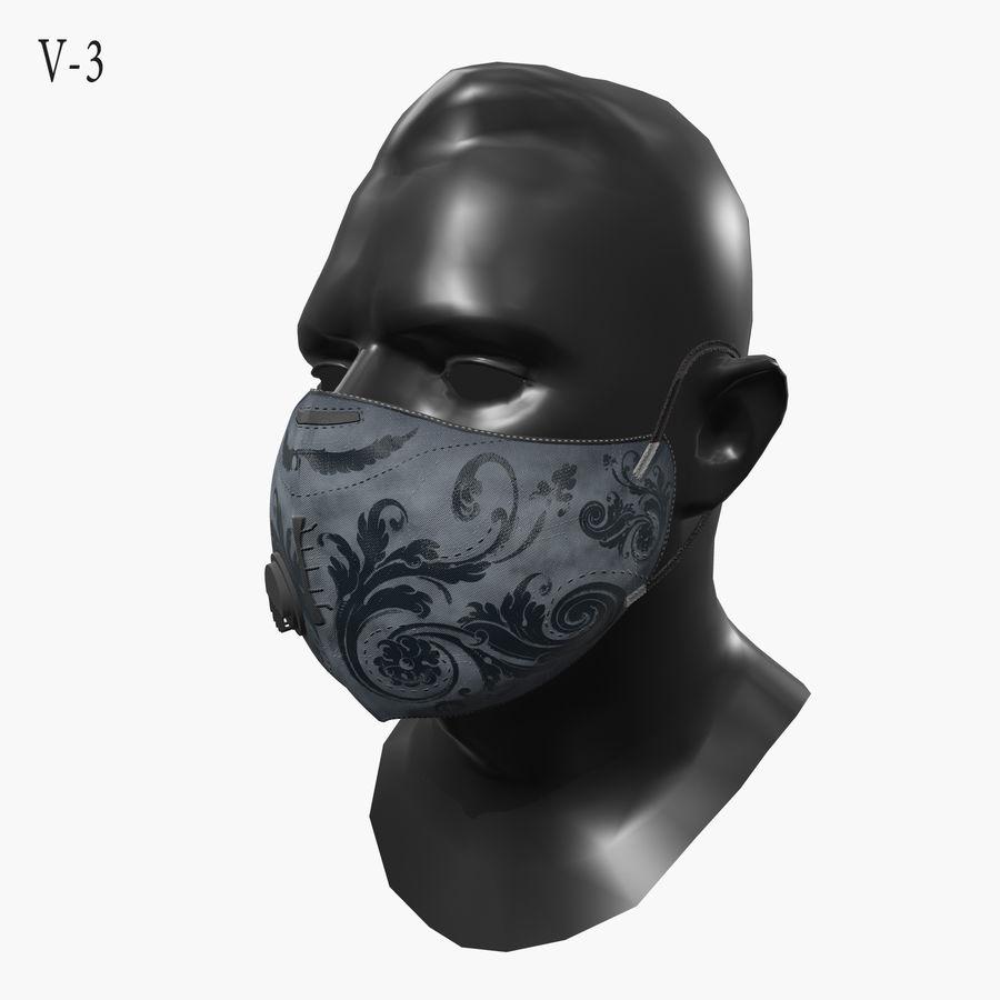 医療用マスク royalty-free 3d model - Preview no. 9