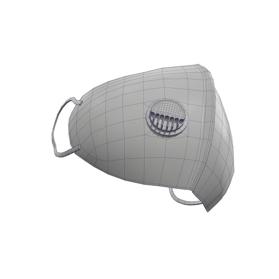 医療用マスク royalty-free 3d model - Preview no. 34