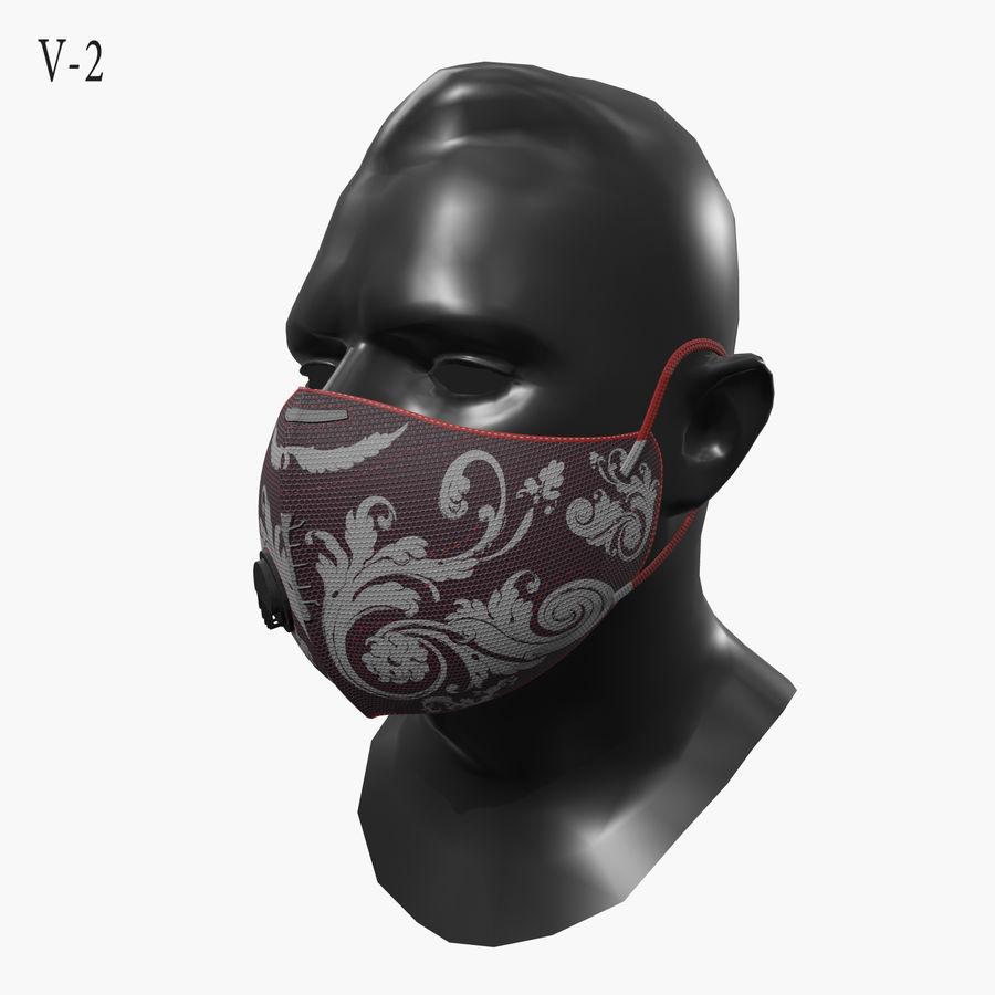 医療用マスク royalty-free 3d model - Preview no. 5