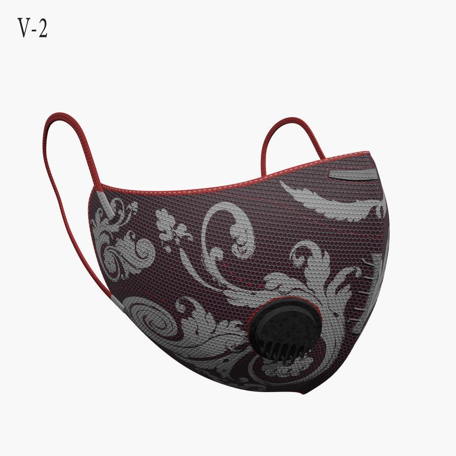 医療用マスク royalty-free 3d model - Preview no. 7
