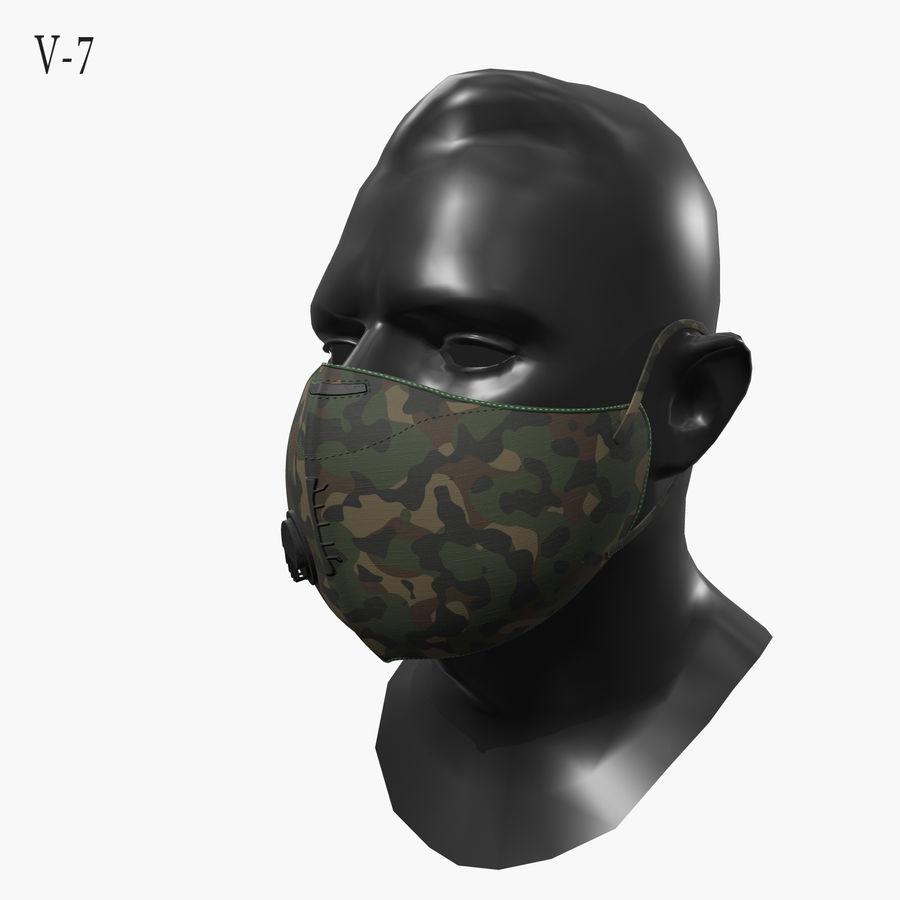 医療用マスク royalty-free 3d model - Preview no. 22