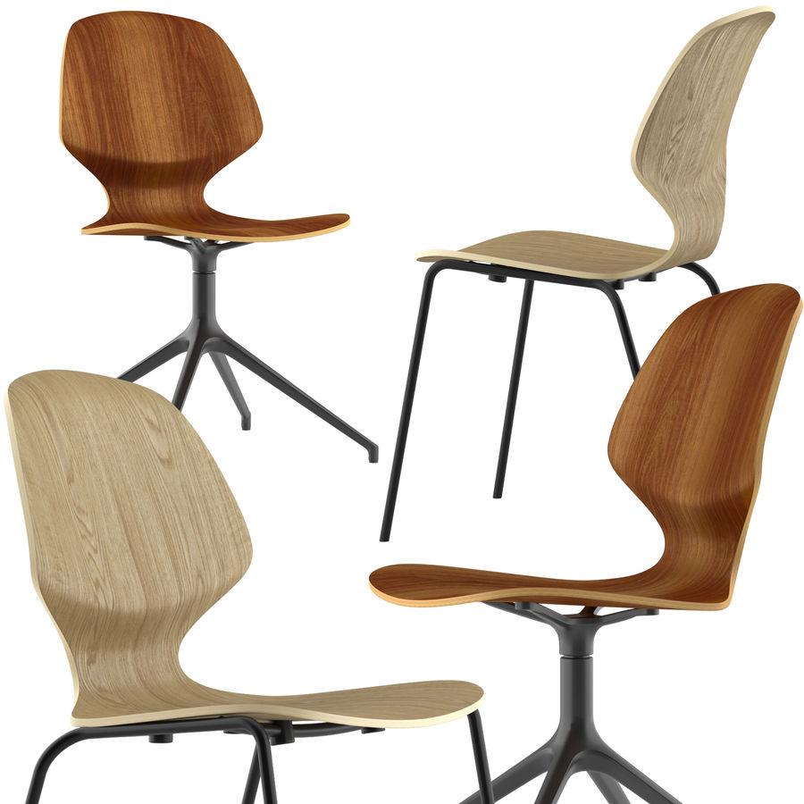 Боконцепт-флорентийский стул royalty-free 3d model - Preview no. 1
