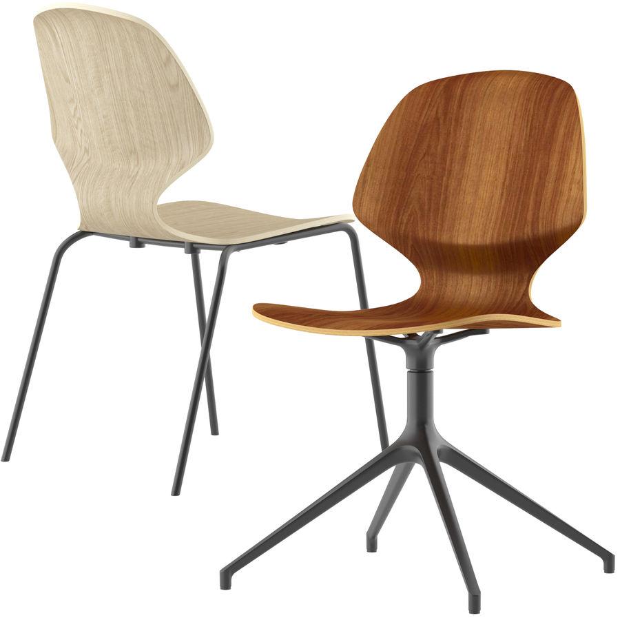 Боконцепт-флорентийский стул royalty-free 3d model - Preview no. 3