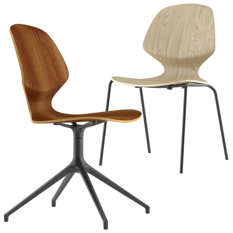 Боконцепт-флорентийский стул royalty-free 3d model - Preview no. 4