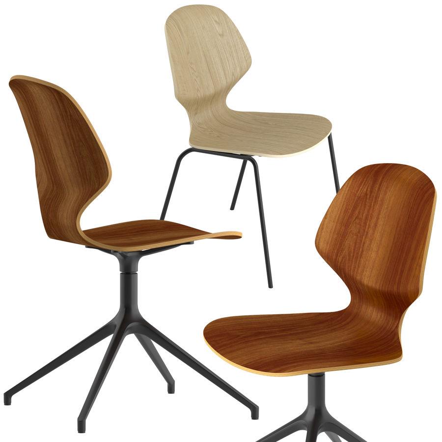 Боконцепт-флорентийский стул royalty-free 3d model - Preview no. 2