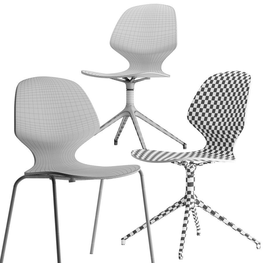 Боконцепт-флорентийский стул royalty-free 3d model - Preview no. 5