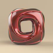 cubo arredondado 3d model