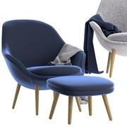 Boconcept躺椅 3d model