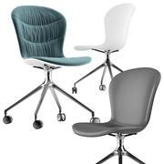 Cadeira Boconcept-adelaide 3d model
