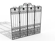 Metal Gate 3d model