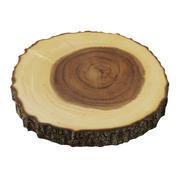 Server con piede di corteccia di albero di acacia 3d model