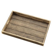 Reclaimed Wood Serving Tray 3d model