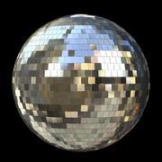 Diskos spegelboll 3d model