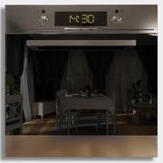 オーブンのみ24頂点 3d model