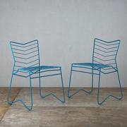 Krzesło z drutu Kai autorstwa Daniela Lau Design 3d model