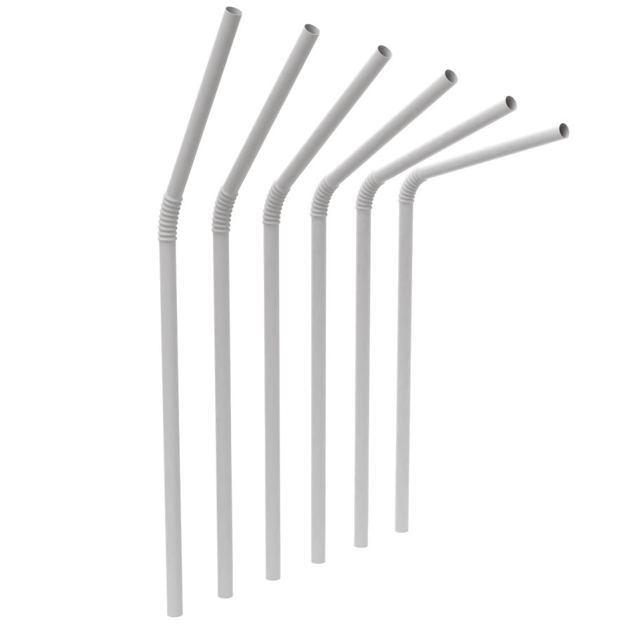 Rigged Drink Straw royalty-free 3d model - Preview no. 7