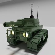 War Tank Destroyer 3D Model 3d model