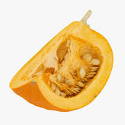 Jack o Lantern Pumpkin 05 Quater RAW SCAN 3d model