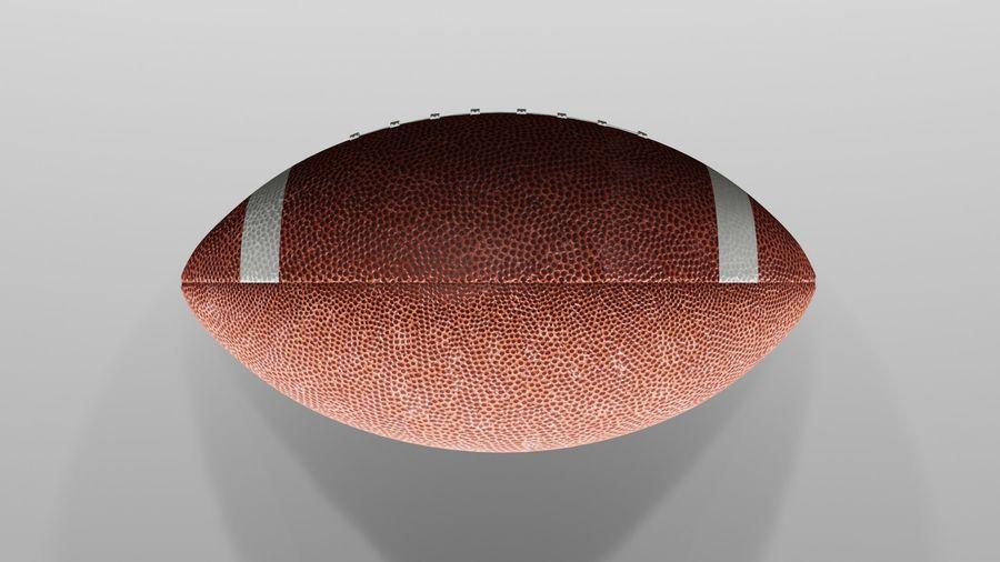 американский футбол royalty-free 3d model - Preview no. 4