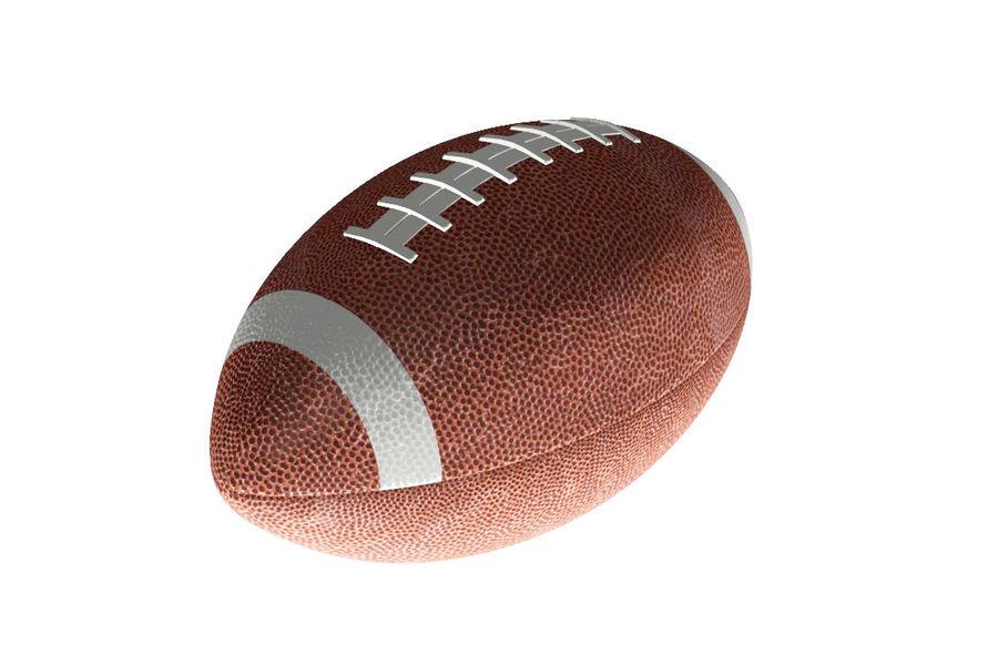американский футбол royalty-free 3d model - Preview no. 1