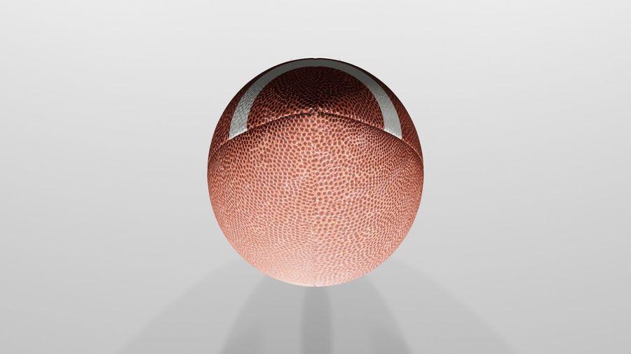 американский футбол royalty-free 3d model - Preview no. 3