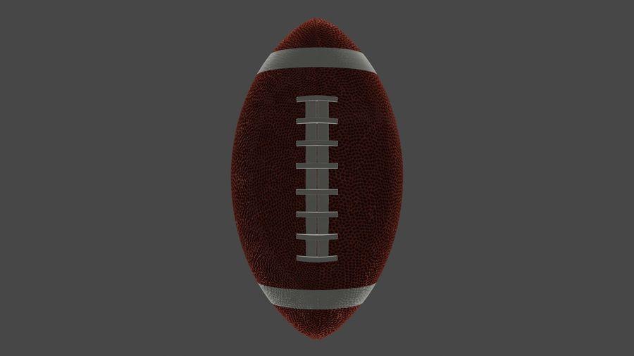 американский футбол royalty-free 3d model - Preview no. 5