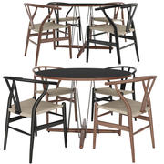 Table and Ch24 autorstwa Carl Hansen 3d model