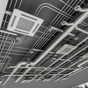 Modelo de ventilación 3D modelo 3d