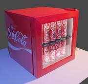 Coca Cola leverantörsmaskin / kylskåp 3d model