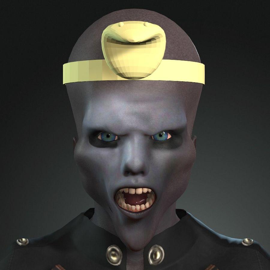 Design de personagens para atores estrangeiros Prontos para animação royalty-free 3d model - Preview no. 1