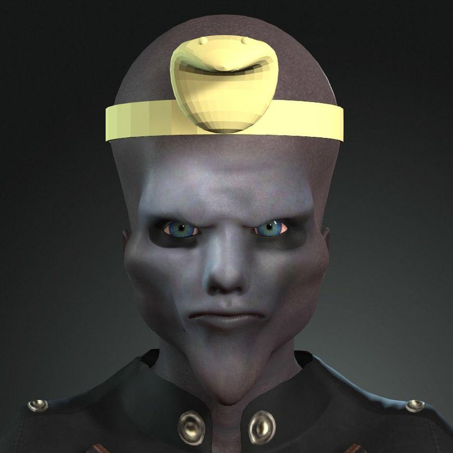Design de personagens para atores estrangeiros Prontos para animação royalty-free 3d model - Preview no. 15