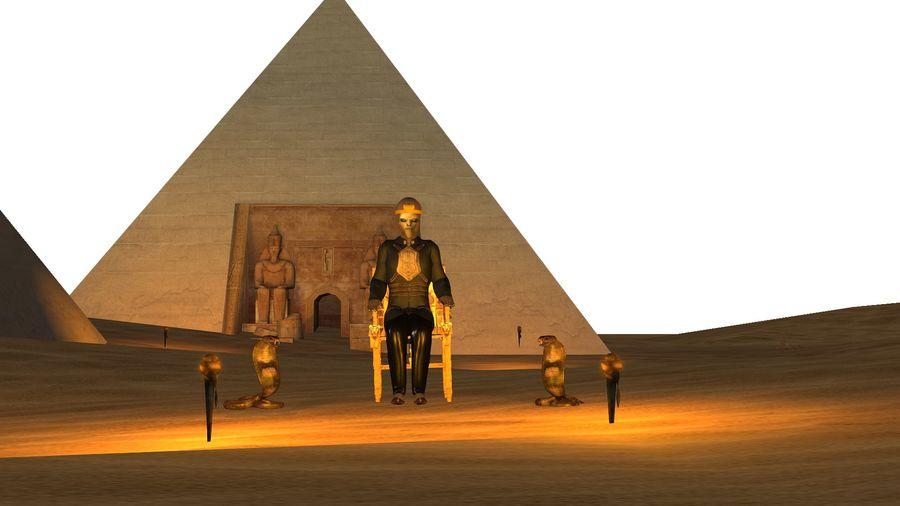 Design de personagens para atores estrangeiros Prontos para animação royalty-free 3d model - Preview no. 4