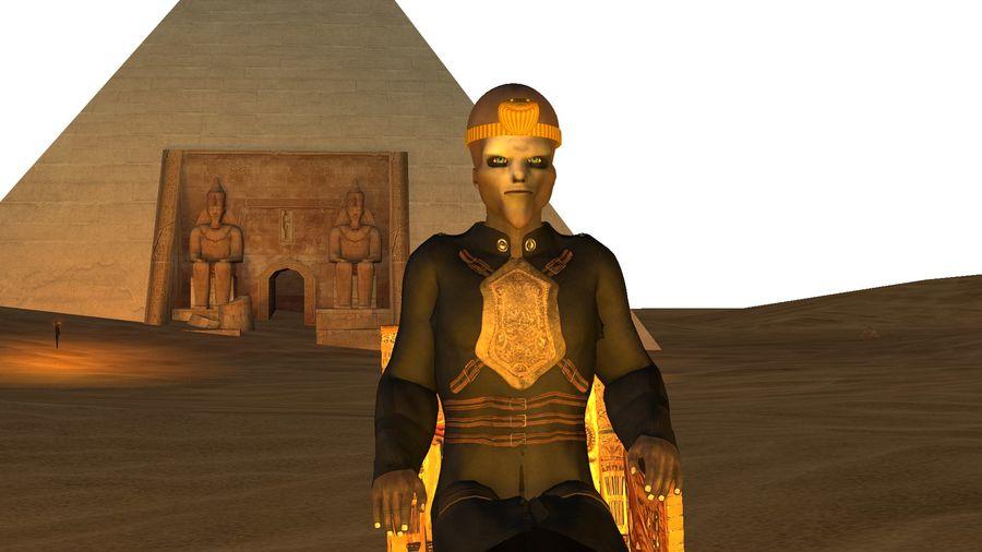 Design de personagens para atores estrangeiros Prontos para animação royalty-free 3d model - Preview no. 5