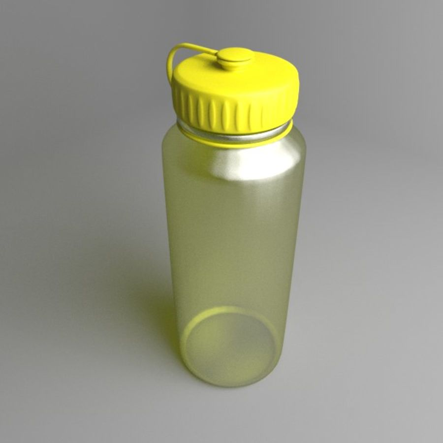 Multi-use Water Bottle royalty-free 3d model - Preview no. 1