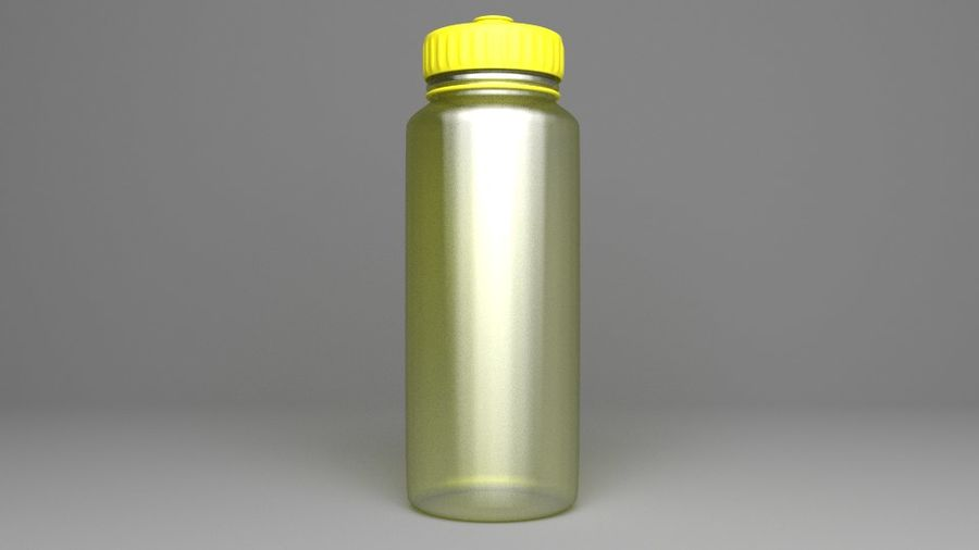 Multi-use Water Bottle royalty-free 3d model - Preview no. 5