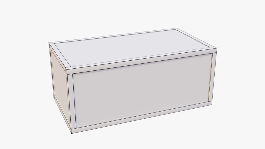 Crate royalty-free 3d model - Preview no. 11
