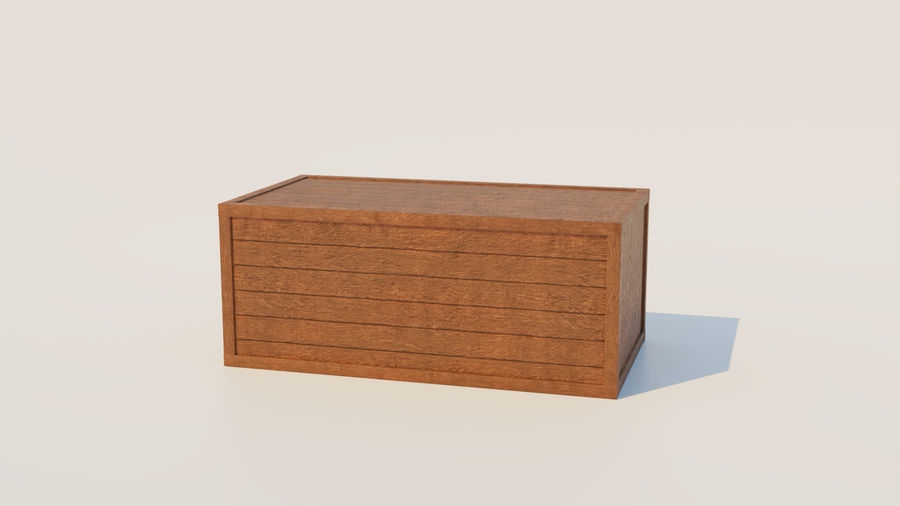 Crate royalty-free 3d model - Preview no. 6