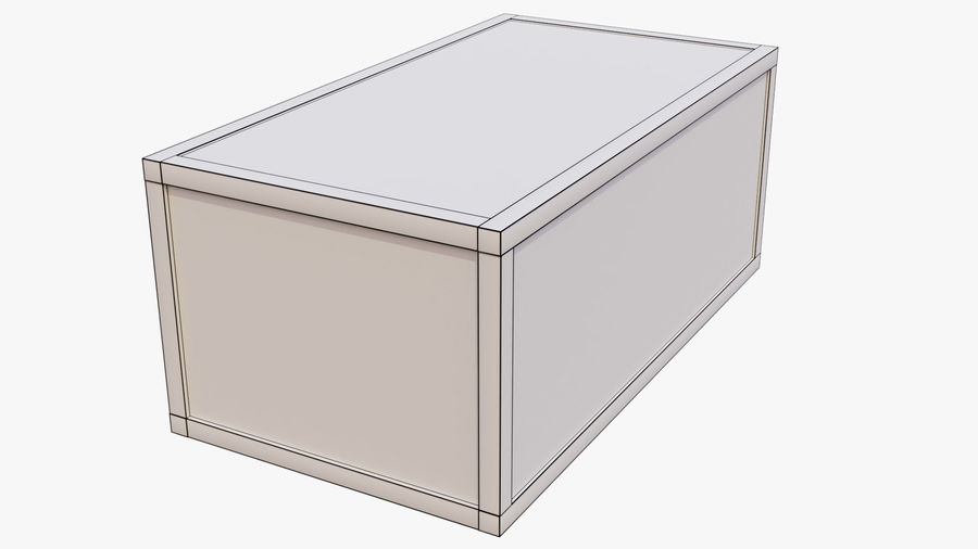 Crate royalty-free 3d model - Preview no. 13
