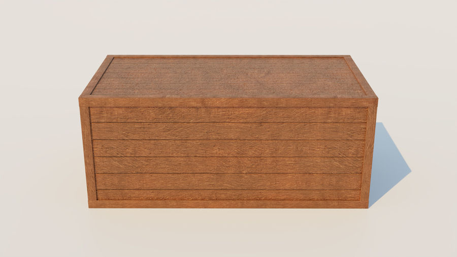 Crate royalty-free 3d model - Preview no. 7