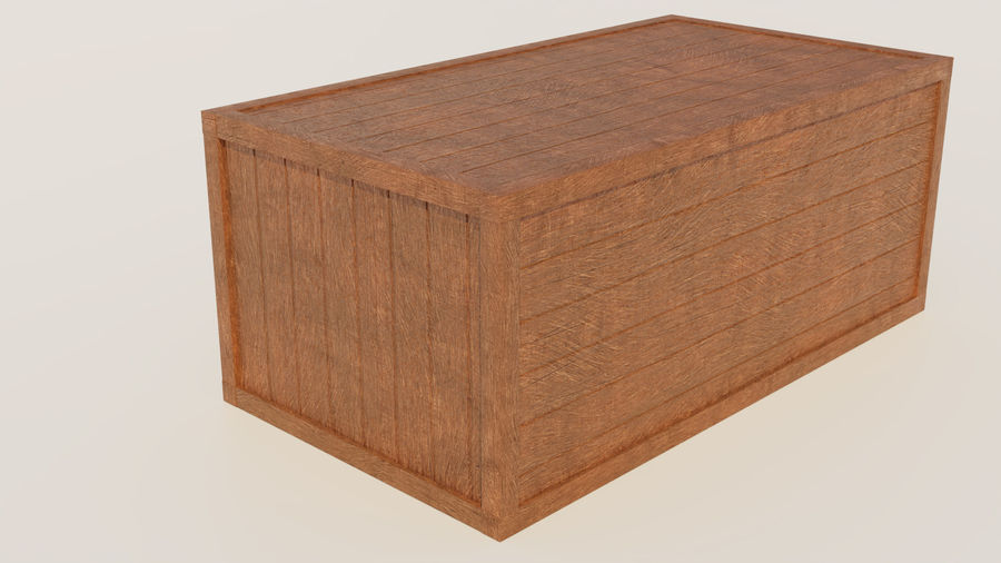 Crate royalty-free 3d model - Preview no. 9