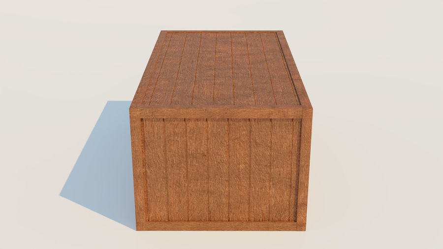 Crate royalty-free 3d model - Preview no. 8