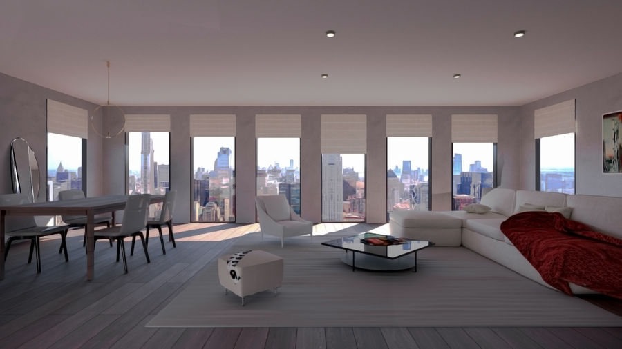 Living Room Interior Scene For 3ds Max And V Ray Next 3d Model 5 Unknown Free3d