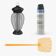 Insect Protection Collection 3d model