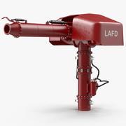 Водяной пистолет для пожаротушения, приспособленный для Modo 3d model