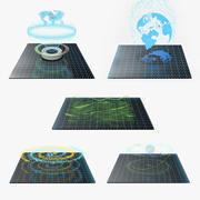 Hologram Collection 3 3d model