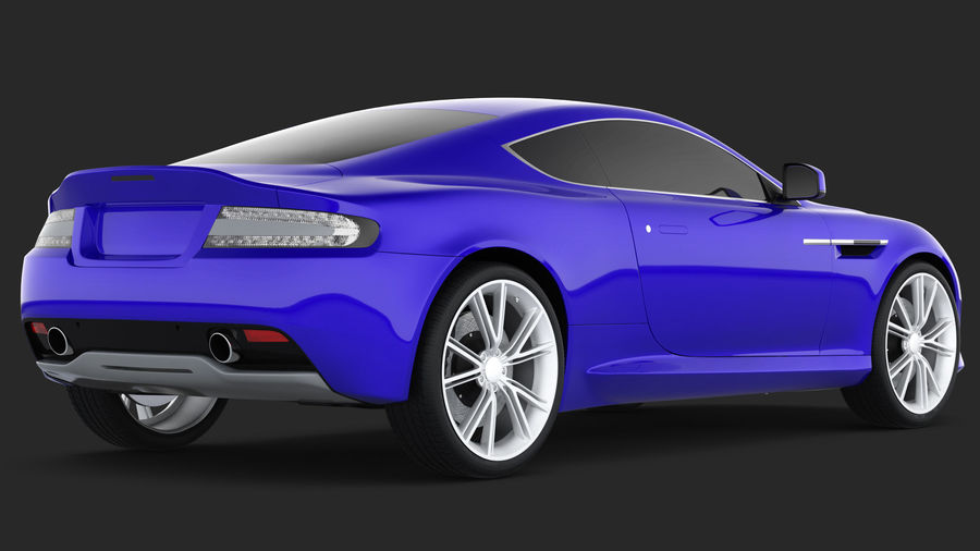 Luxury Cars Collection 21 royalty-free 3d model - Preview no. 32