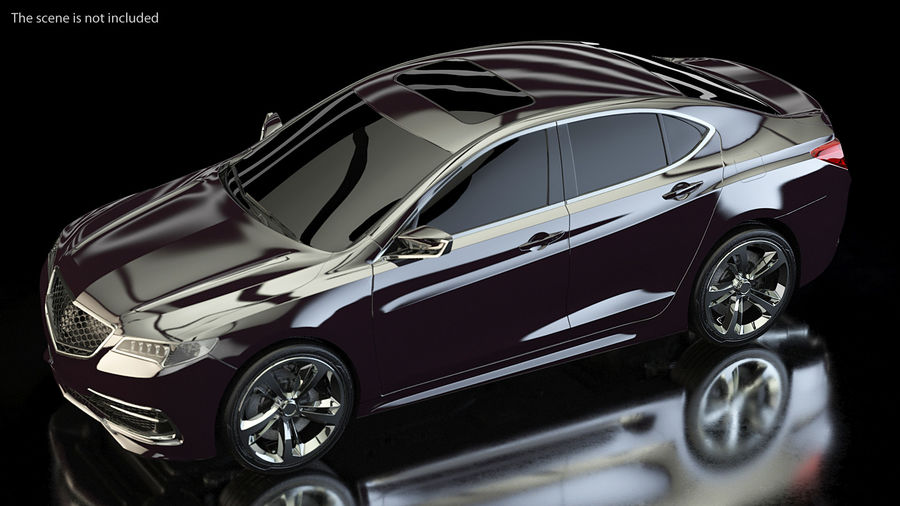 Luxury Cars Collection 21 royalty-free 3d model - Preview no. 6