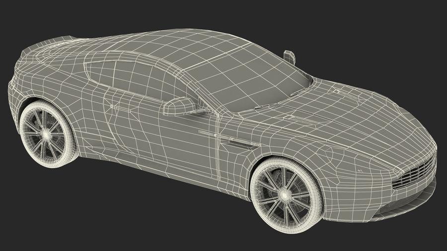 Luxury Cars Collection 21 royalty-free 3d model - Preview no. 43